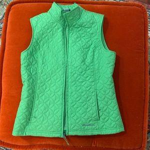 Eddie Bauer Green Vest 🐸 Size S